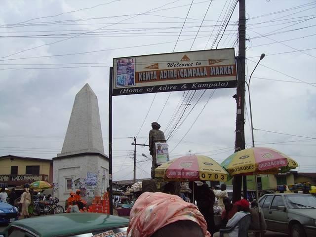 Kemta Adire Market