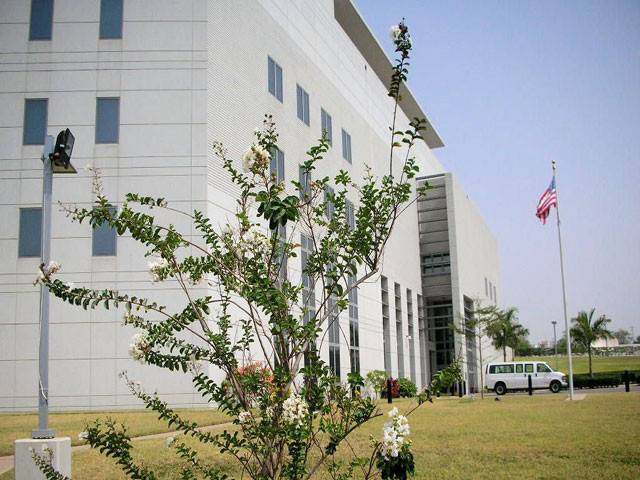 The US Embassy
