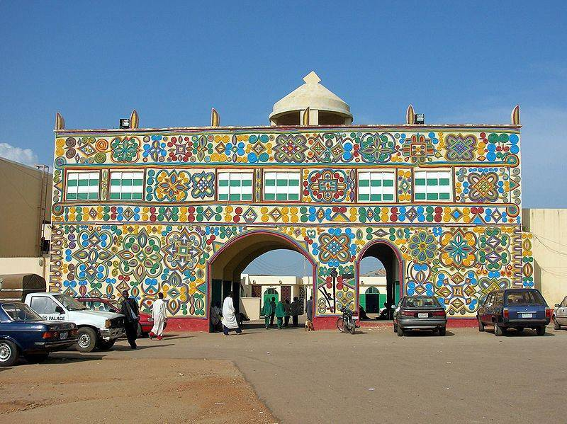 Emir of Zazzau Palace2
