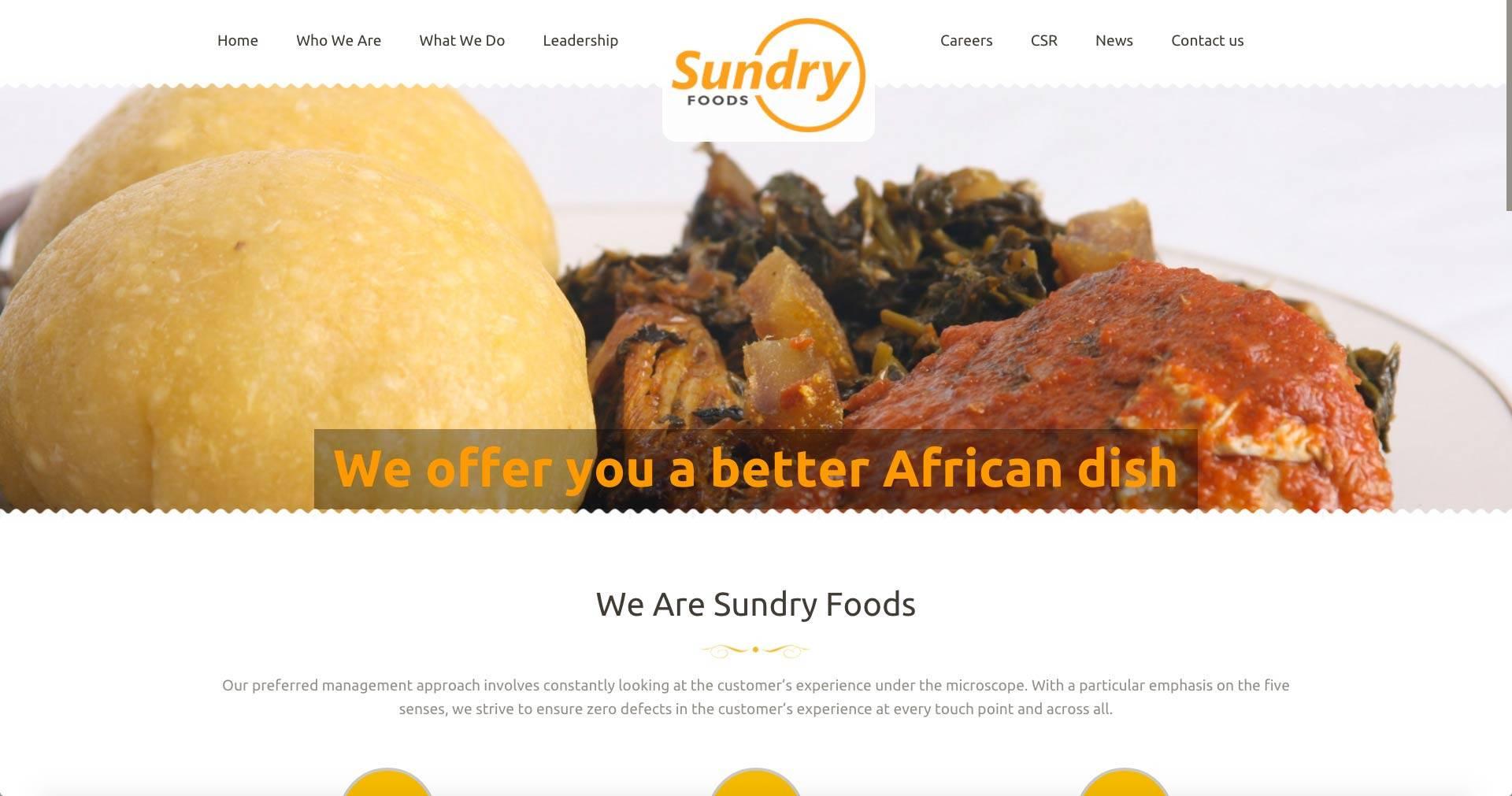 Sundry Foods