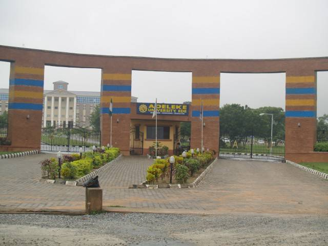 Adeleke University2