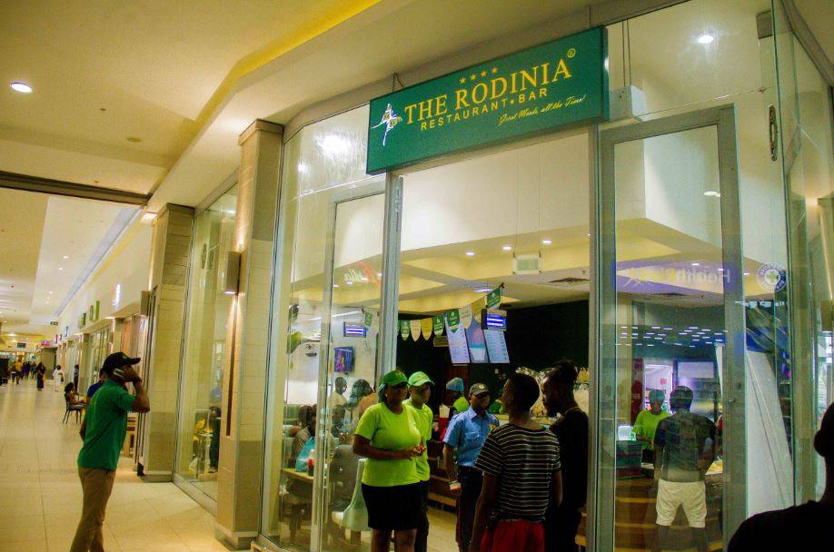 The Rodinia Restaurant, Warri