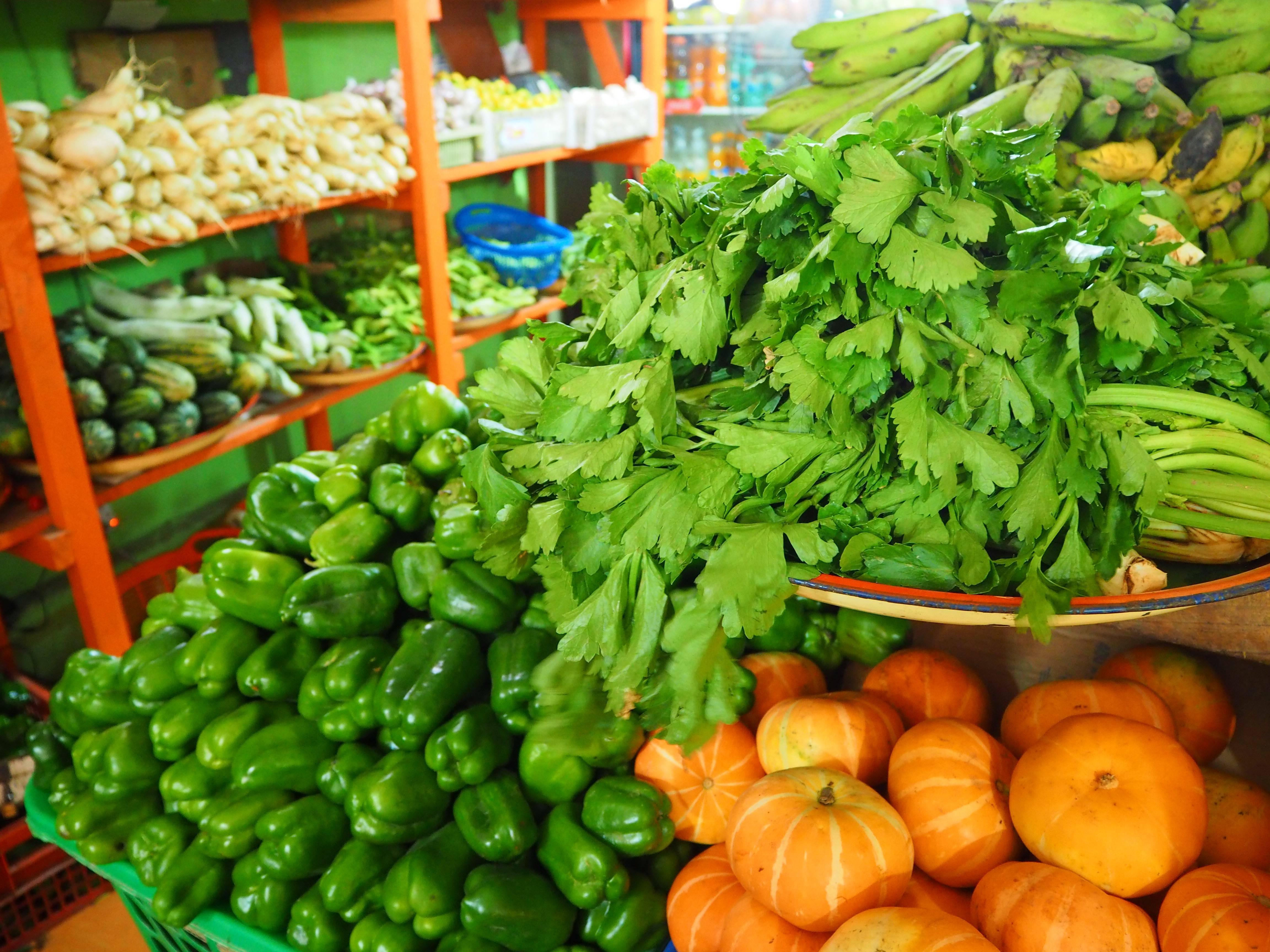 Vegfruits and Supermarket