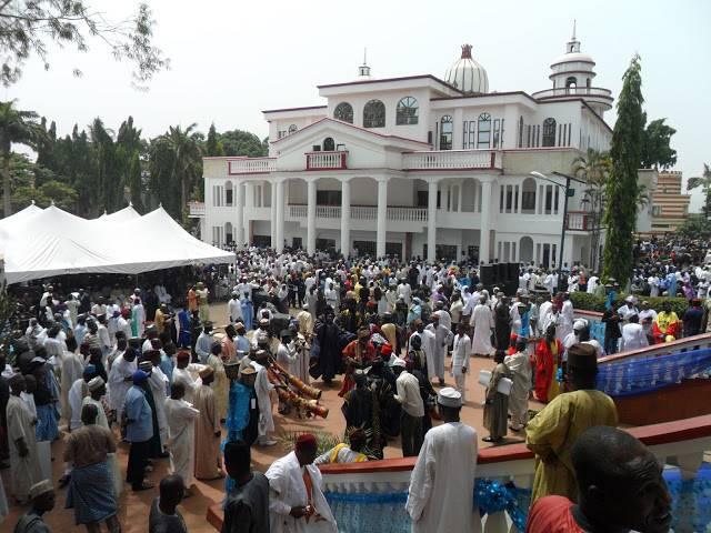Ohinoyi of Ebiraland Palace1